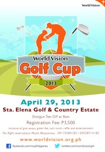 The World Vision Golf Cup at the beautiful Sta Elena Golf Club