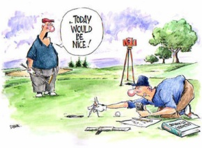 Golf Etiquette For The Ignorant