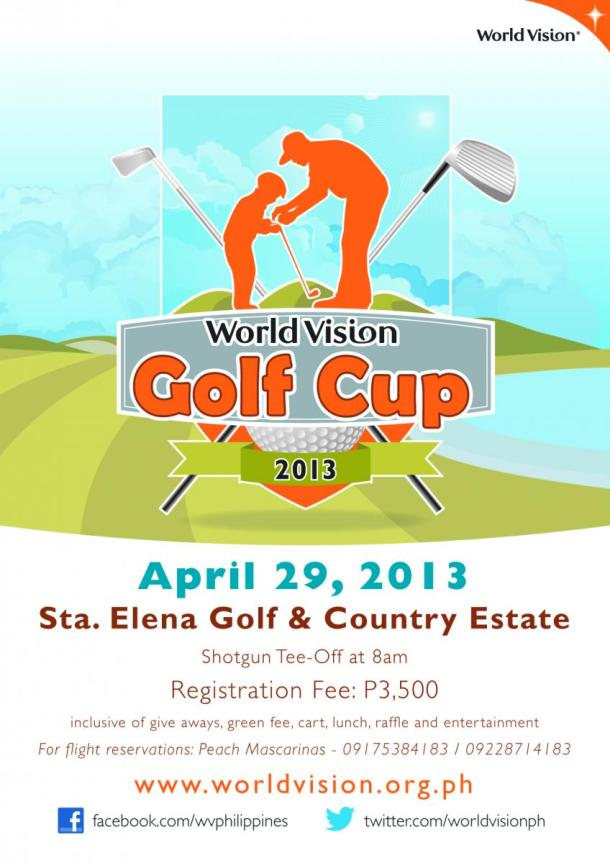 World Vision Golf Cup POSTER A4-01
