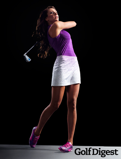 Holly Sonders Graces The Cover Of Golf Digest
