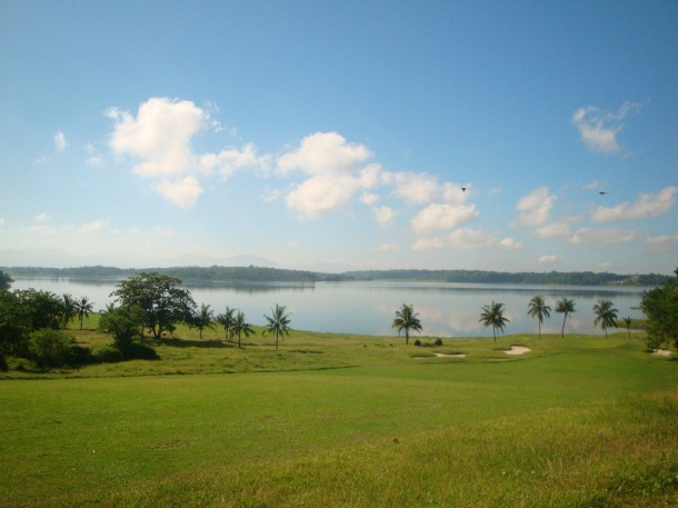 Fort Ilocandia Golf and Country Club overlooking Paoay Lake