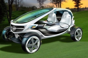 Mercedes-Benz Golf Cart?