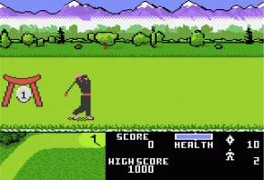 Ninja Golf Swing?