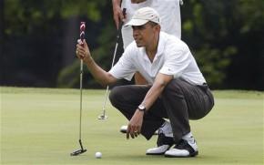 President Barack Obama ThreePutts